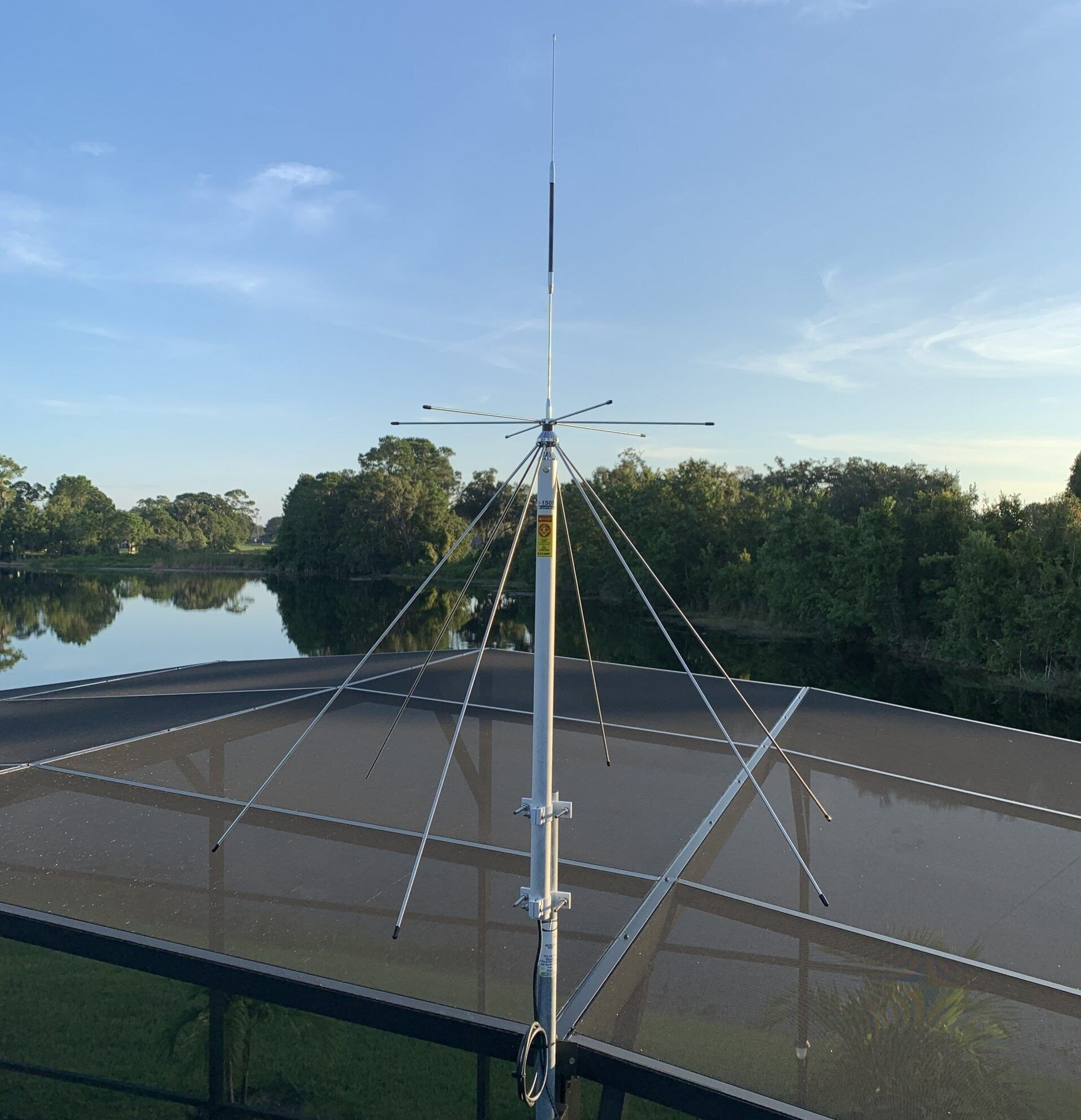 Comet DS-150S Discone 6M, VHF/UHF (25-1500MHz)